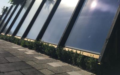 Productie zonneboilers